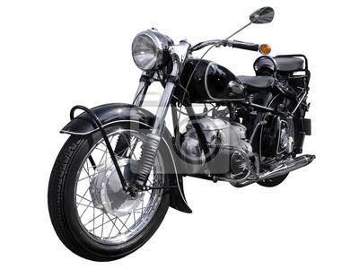 Oldtimer Motorrad, Bike rocznika, Chrome 1940