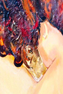 Obraz Olej malowane tła