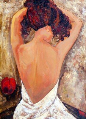Obraz Opposite Side of Beauty (malarstwo olejne)