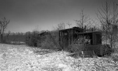 Opuszczone ciągniki