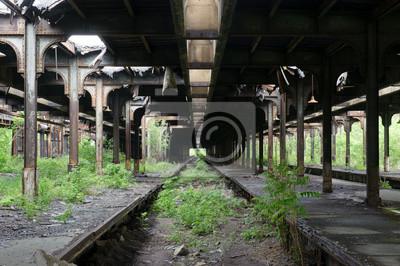 Opuszczony dworzec kolejowy