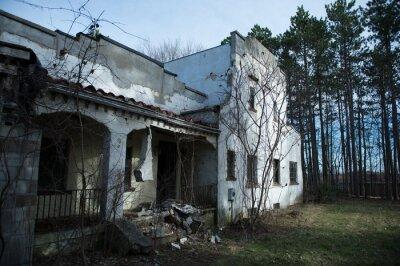 Opuszczony Hiszpański Dom Rewarski