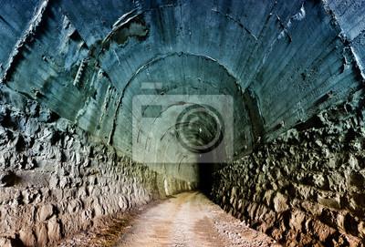 Opuszczony tunel kolejowy w Karpatach