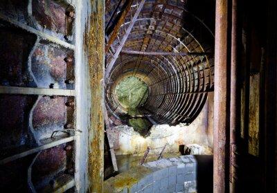 Opuszczony tunel metra
