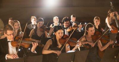 Obraz Orchestra performing