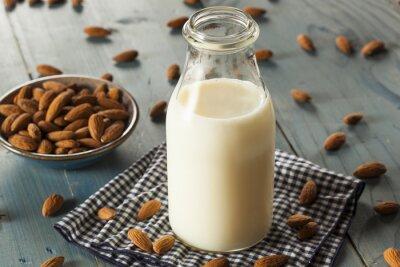 Obraz Organiczne Mleko Biały migdałowy