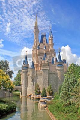 Obraz Orlando, Floryda - 08 października 2008 - Zamek Kopciuszka w Magic Kingdom, Walt Disney World.