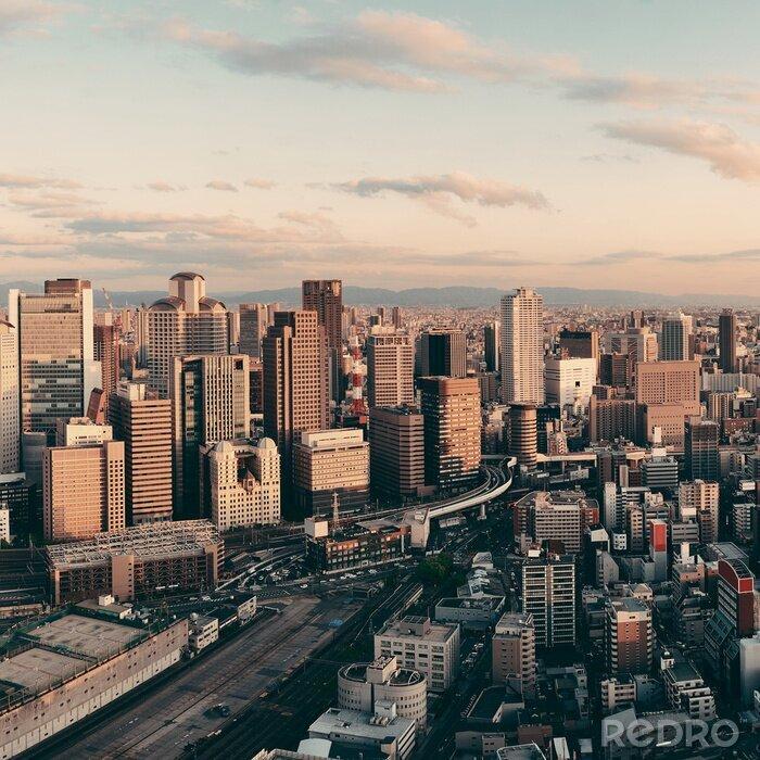 Obraz Osaka Widok na dachu
