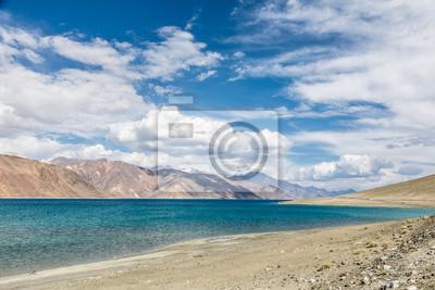 Oszałamiająca Jezioro Pangong w Ladakh