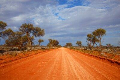 Obraz Outback drogowego