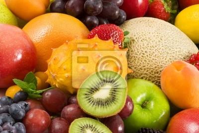 Obraz owoce