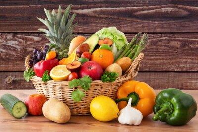 Obraz Owoce i warzywa