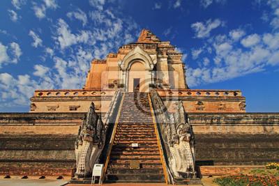 Obraz Pagoda w północnej Tajlandii Wat Chedi Luang, Tajlandia