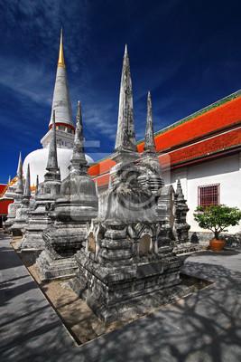 Pagoda w południowej Tajlandii, Wat Mahathat