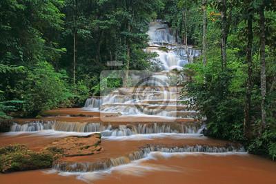 Pajaroen Wodospad Park Narodowy, Tak, Tajlandia
