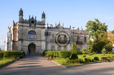Pałac Dadianich w gruzińskim miescie Zugdidi.