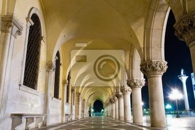 Palazzo Ducale budynek znajduje się w Wenecji, Włochy