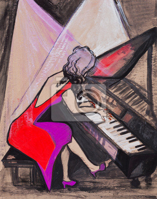 Pani na fortepianie
