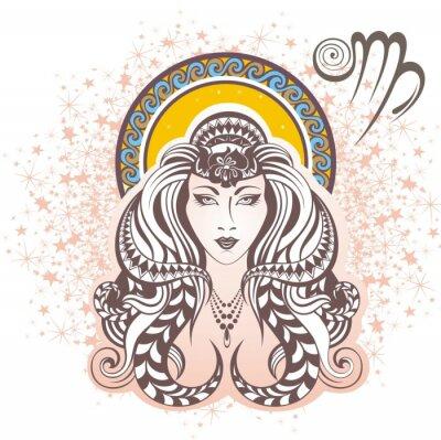 Obraz Panna. znak zodiaku