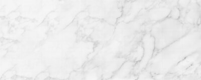 Obraz Panorama image of white marble stone texture for background or luxurious tiles floor and wallpaper decorative design.