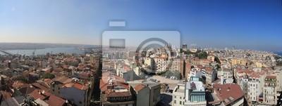 Panorama Luftbild Istanbul