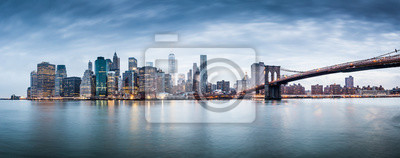 Obraz Panorama panoramę Nowego Jorku