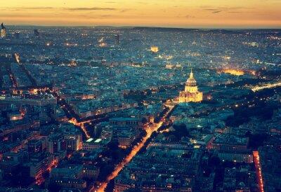 Obraz Panorama Paryża