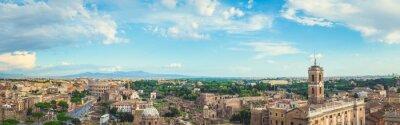 Obraz Panorama Rzymie