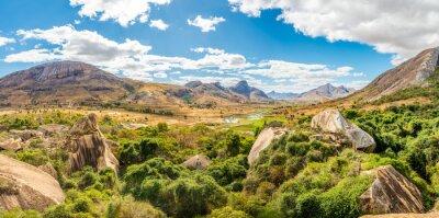 Obraz Panorama widok na rezerwat przyrody Anja