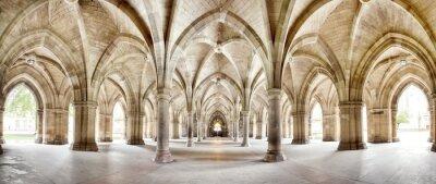 Obraz Panoramę Glasgow University Cloisters