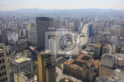 Panoramę Sao Paulo, Brazylia.