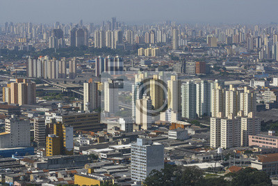 Obraz Panoramę Sao Paulo, Brazylia.