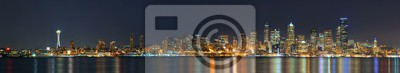 Panoramę Seattle