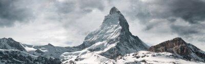 Obraz panoramic view to the majestic Matterhorn mountain, Valais, Switzerland