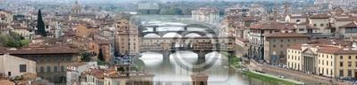 Panoramiczny widok z Florencji
