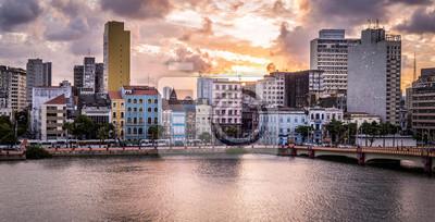 Obraz Panoramiczny widok z Recife w Pernambuco, Brazylia.
