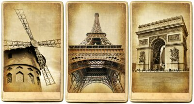 Paris - vintage photoalbum series