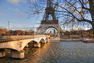 Paris w zimie