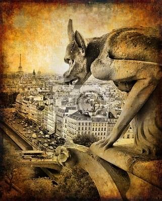 Paris - zabytkowe karty