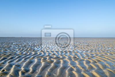 Obraz Park narodowy Niedersächsisches Wattenmeer w pobliżu Cuxhaven