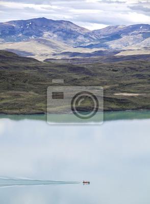 Park Narodowy w chilijskiej Patagonii - Torres del Paine.