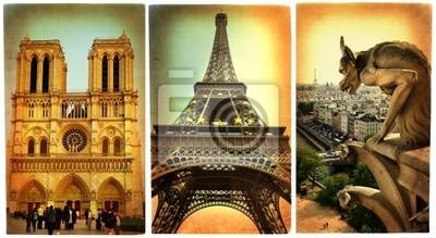 Paryski - Seria kart zabytkowe