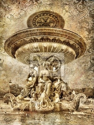 Paryskie szczegóły - artystyczny obraz