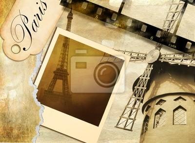 Paryskie wspomnienia - Archiwalne album fotograficzny