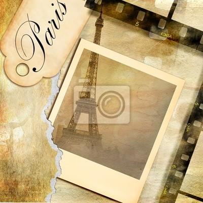 Paryskie zdjęcia - Archiwalne album fotograficzny