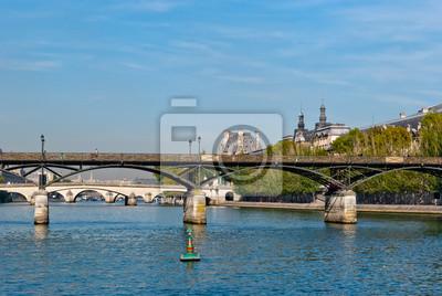 Paryż, Pont des Arts na Sekwanie