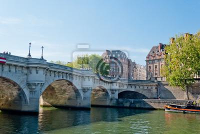 Paryż, Pont Neuf na Sekwanie