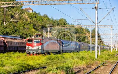 Pasażer dworzec kolejowy w Sighisoara - Rumunia