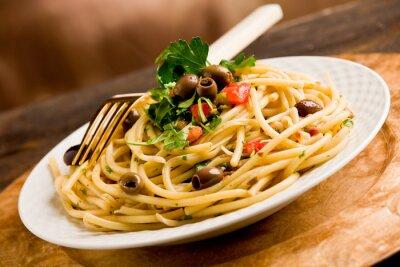 Obraz Pasta con le Olive