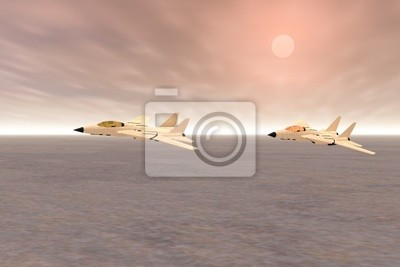 patrol bojowy samolot